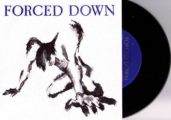 "Forced Down- Rise 7"" - Vinyl Communications - Dead Beat Records"