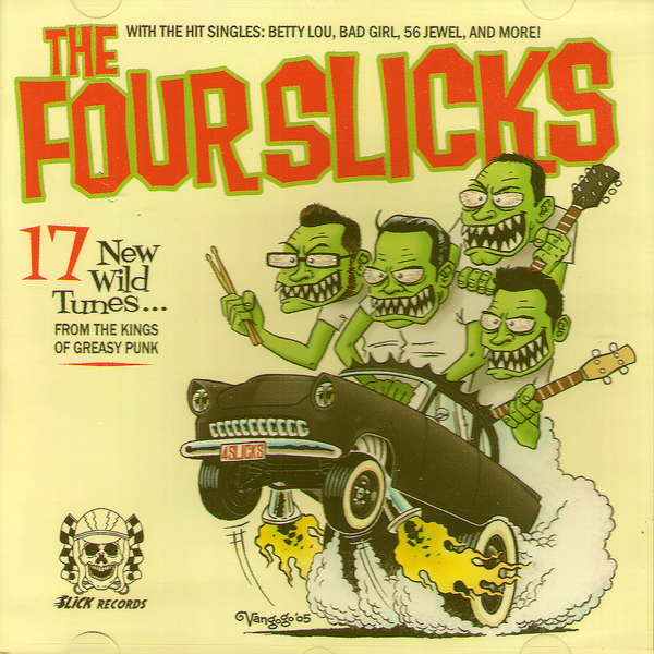 Four Slicks- S/T CD ~JON VON / EX RIP OFFS!