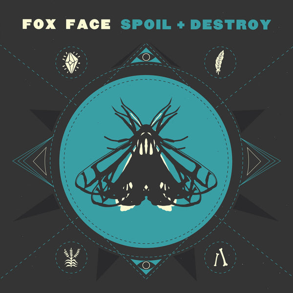 Fox Face- Spoil + Destroy LP ~COATHANGERS!