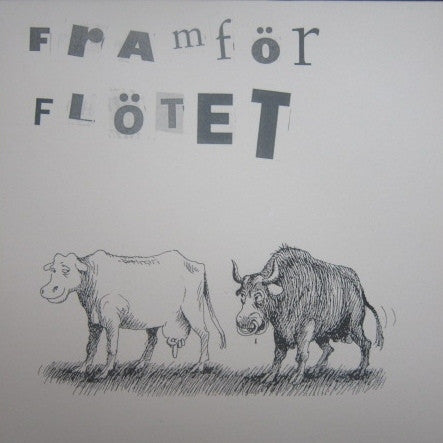 "Framfor Flotet- S/T 7"" ~RARE REISSUE LTD TO 200! - Ken Rock - Dead Beat Records"