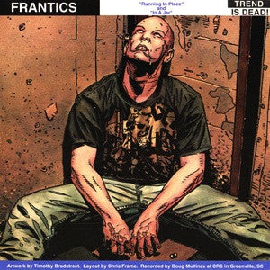 "Frantics/Black Left Pinky- Split 7"" - Trend Is Dead - Dead Beat Records"