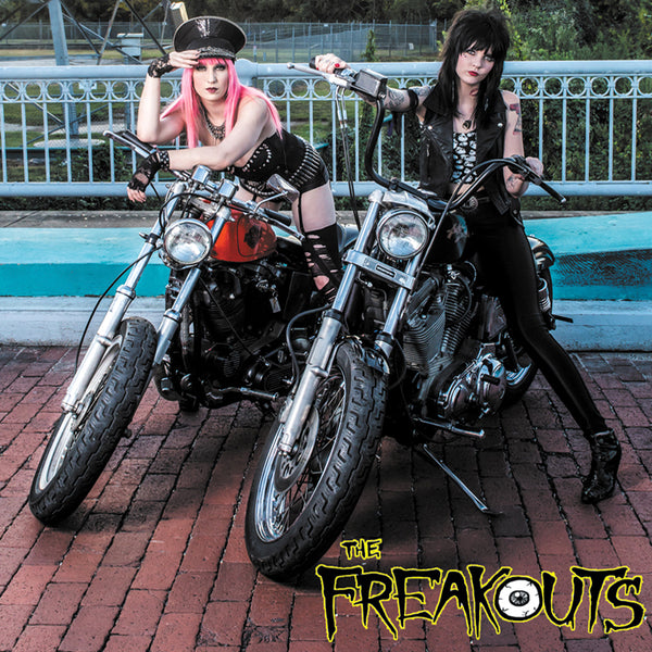 "The Freakouts- Care Less 7"" ~GIRLSCHOOL!"