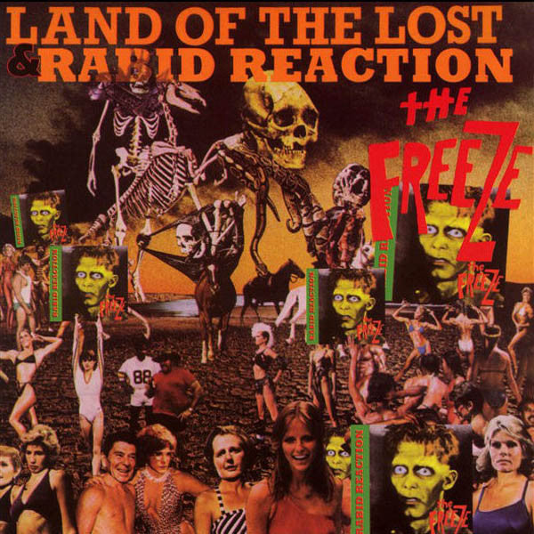 THE FREEZE- 'Rabid Reaction/Land Of The Lost' CD - Dr Strange - Dead Beat Records