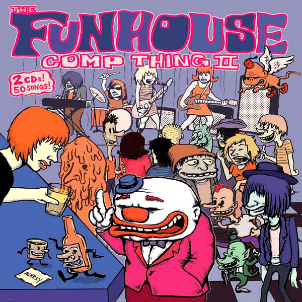 V/A- Funhouse Comp Thing #2 DOUBLE CD SET ~W/ PIERCED ARROWS / THE SPITS!