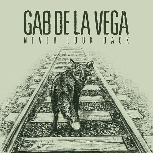 Gab De La Vega- Never Look Back LP ~EX SMASHROOMS!