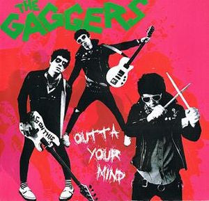"Gaggers- Outta Your Mind 7"" - NO FRONT TEETH - Dead Beat Records"