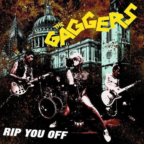Gaggers- Rip You Off LP ~RARE YELLOW WAX! - Wanda - Dead Beat Records