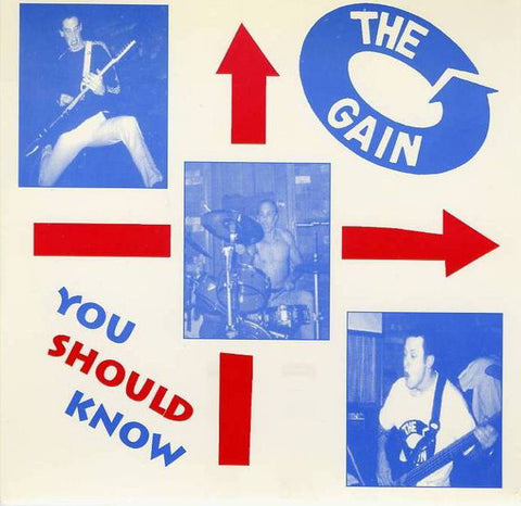 "The Gain- You Should Know 7"" ~BUZZCOCKS!"