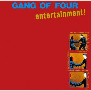 Gang Of Four- Entertainment LP - Bootleg - Dead Beat Records