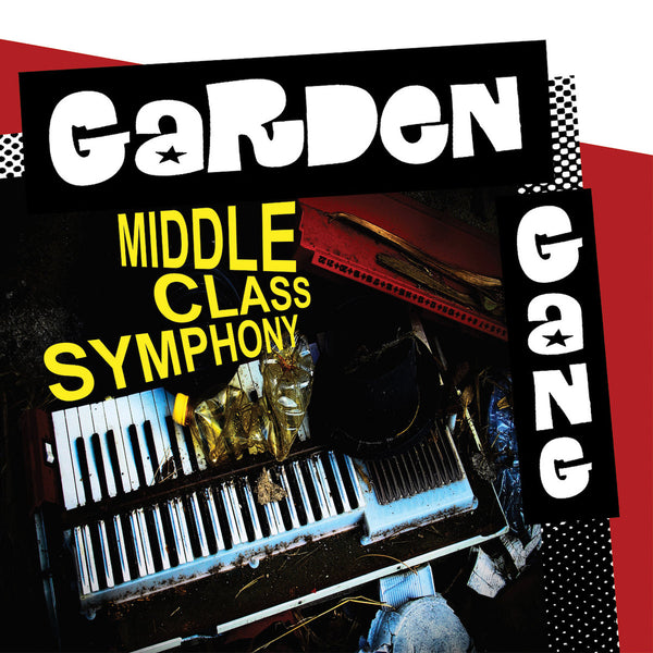 Garden Gang- Middle Class Symphony LP ~WITH TV SMITH OF THE ADVERTS / RARE BLUE WAX LTD TO 154!