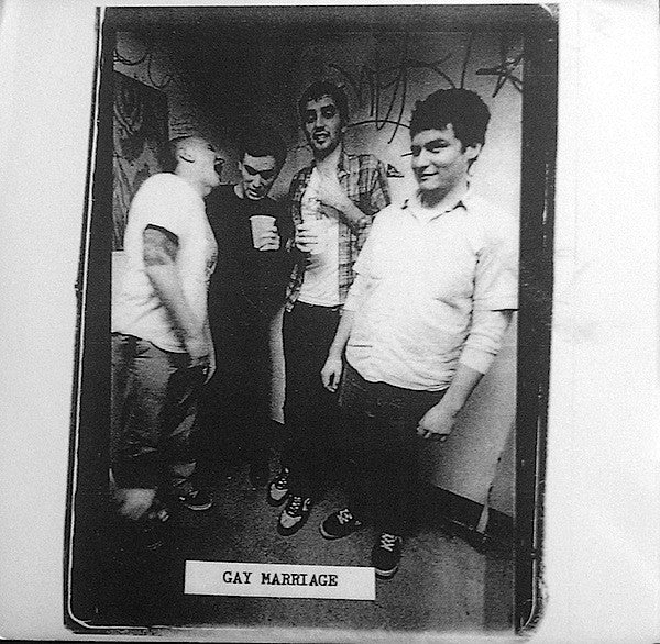 "Gay Marriage- S/T 7"" ~200 HAND NUMBERED COPIES! - Ditchwater - Dead Beat Records"