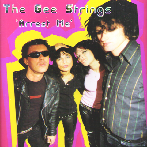 Gee Strings- Arrest Me CD ~AVENGERS!