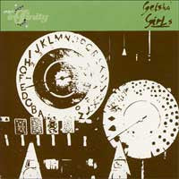 "Geisha Girls- In The Monotone 7"" - Project Infinity - Dead Beat Records"