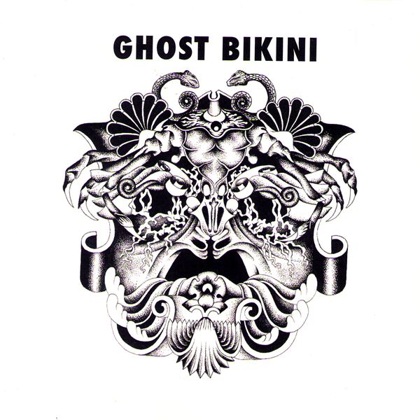 "Ghost Bikini- S/T 7"" ~BLACK LIPS!"