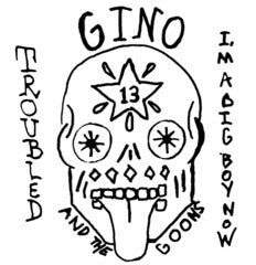 "Gino & The Goons- Troubled 7"" - Floridas Dying - Dead Beat Records"