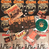 Giuda- Speaks Evil LP ~VERY RARE GREEN WAX, 2 POSTERS, PIN + STICKER!