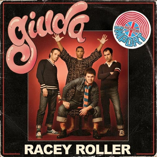 GIUDA - Racey Roller LP ~IMPORT COVER EDITION - Dead Beat - Dead Beat Records