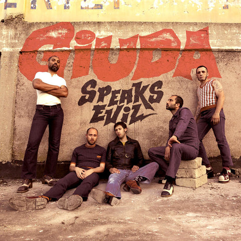 Giuda- Speaks Evil LP ~RARE AUSTRALIAN PRESS W/ POSTER!