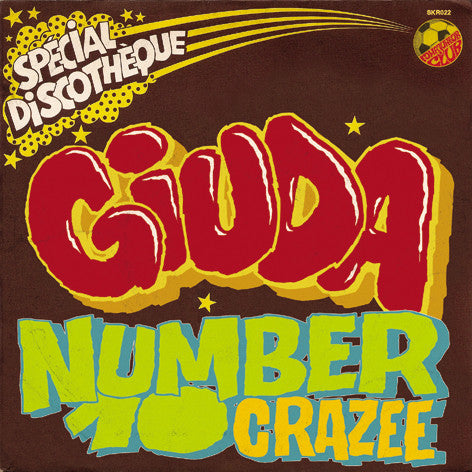 "Giuda- Number 10 7""  ~LTD TO 300! - Surfin Ki - Dead Beat Records"