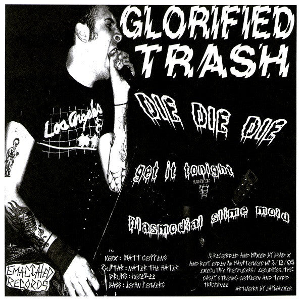 "Glorified Trash / Throbbin' Urges - Split 7"" ~DWARVES!"