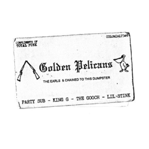 "Golden Pelicans- The Earls 7"" - Floridas Dying - Dead Beat Records"