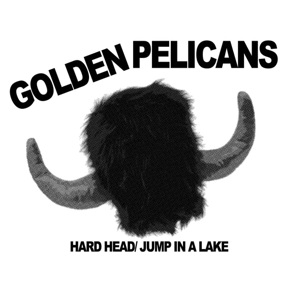 "GOLDEN PELICANS- Hard Head 7"" ~300 PRESSED! - Floridas Dying - Dead Beat Records"
