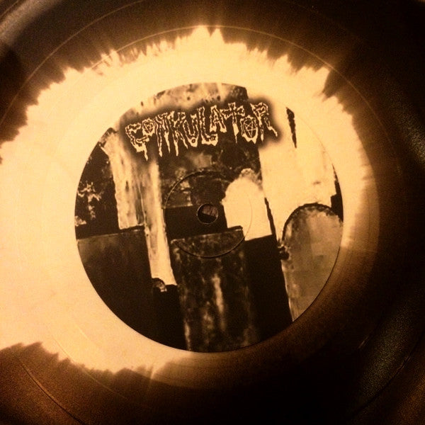 "Gonkulator- Reborn Through Evil 10"" - Fudgeworthy - Dead Beat Records - 2"