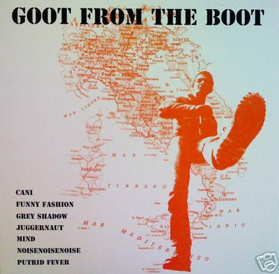 V/A- Goot From The Boot 2x CD ~CLASSIC ITALIAN REISSUE - Gonna Puke - Dead Beat Records