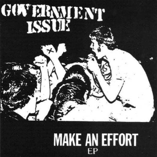 "Government Issue- Make An Effort 7"" - Dr Strange - Dead Beat Records"
