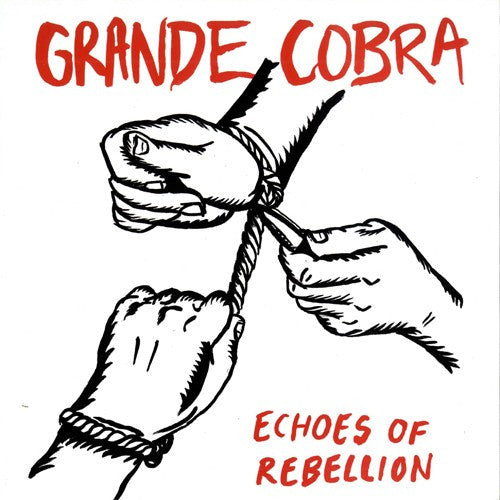 GRANDE COBRA - Echoes Of Rebellion LP ~EX DIGGER + THE PUSSYCATS - Ptrash - Dead Beat Records