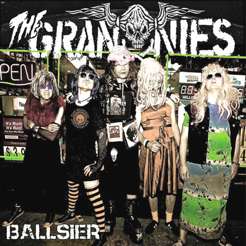 Grannies- Ballsier LP ~SUPERSUCKERS / RAREST GRANNY GREEN WAX LTD TO 200!