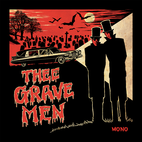 Thee Gravemen- S/T LP ~CRAMPS!