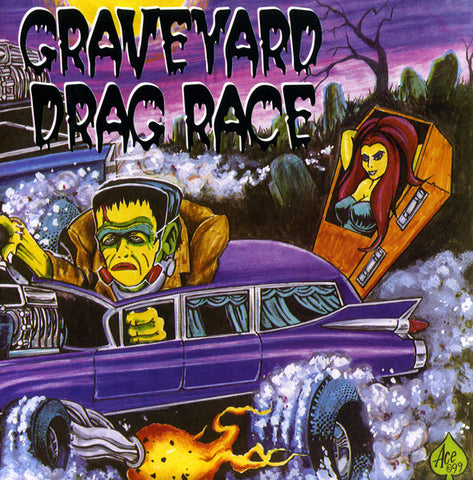 "V/A- Graveyard Drag Race 2X 7"" W/ CANDY SNATCHERS! - Reptilian - Dead Beat Records"