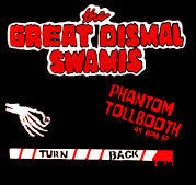 "Great Dismal Swamis- Phantom Tollbooth 7"" ~RARE GREEN WAX! - RZO - Dead Beat Records"