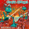 Groovie Ghoulies- World Contact Day LP ~REISSUE / RARE RED WAX!