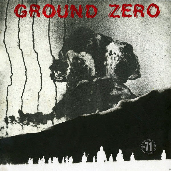 GROUND ZERO- S/T LP ~REISSUE! - Rave Up - Dead Beat Records