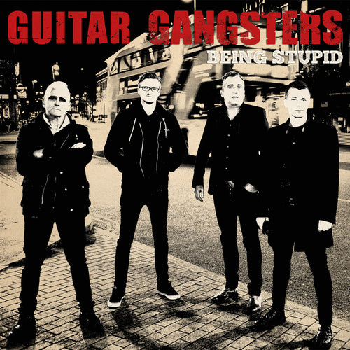 "Guitar Gangsters- Being Stupid 7"" ~WANDA RECORDS / LIMITED TO 200!"