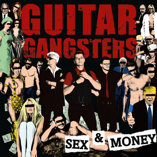 Guitar Gangsters- Sex & Money LP ~WANDA RECORDS!