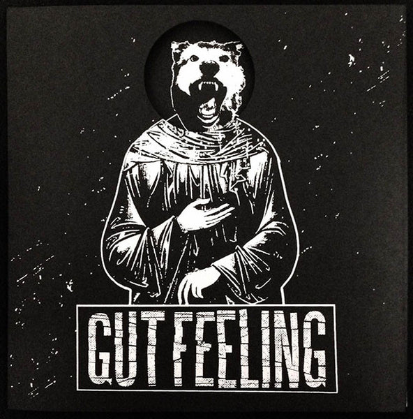 "Gut Feeling – S/T 7"" ~DIE CUT COVERS! - Bitter Melody - Dead Beat Records"