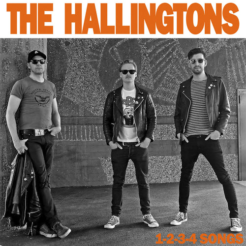"Hallingtons- 1-2-3-4 Songs 7"" ~HEAD!"