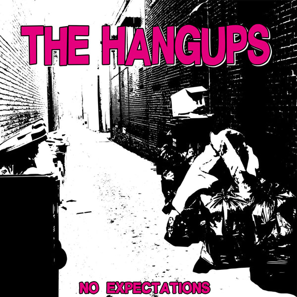 "Hangups- No Expectations 7"" ~PARASITES / RARE BLACK AND BLUE SPLAT WAX!"