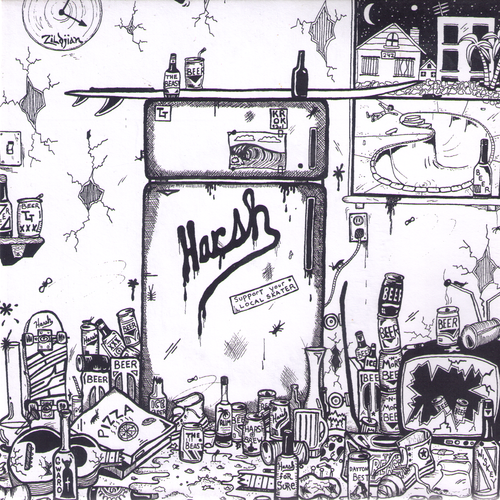 Harsh- Liquid Diet 7""
