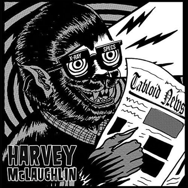 Harvey McLaughlin- Tabloid News LP ~TOM WAITS!