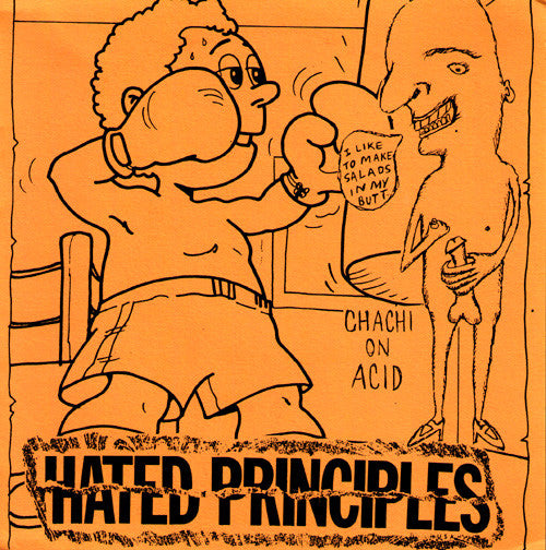 "Hated Principles/Chachi On Acid- Split 7"" - Do Yourself In - Dead Beat Records"