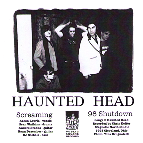 "Haunted Head- S/T 7"" ~EX STARVATION ARMY!"