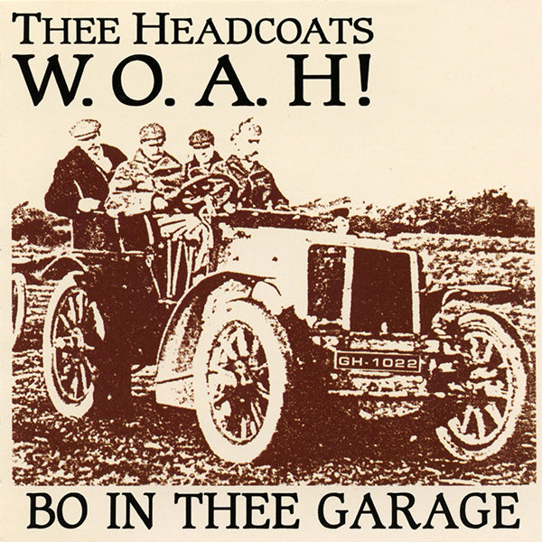 Thee Headcoats- WOAH Bo In Thee Garage LP ~REISSUE / RARE CREAMY MARBLE WAX!