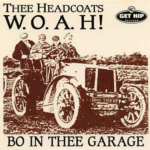 Thee Headcoats- WOAH Bo In Thee Garage LP ~RARE PINK MARBLE WAX! - Get Hip - Dead Beat Records