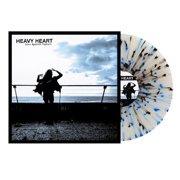 Heavy Heart- Love Against Capture LP ~RARE BLACK AND BLUE SPLAT WAX!