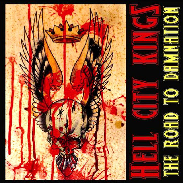 Hell City Kings- The Road To Damnation LP ~TURBONEGRO!