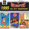 "Hellacopters- 1995 7"" ~RARE YELLOW WAX / REISSUE!"
